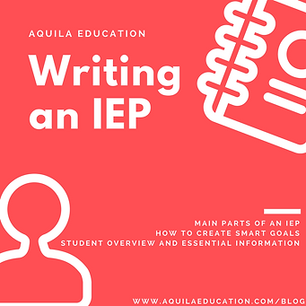 The Three Essential Parts Of Iep Goal >> Guide To Writing An Iep
