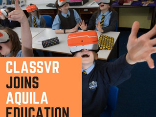 ClassVR Joins Aquila Education