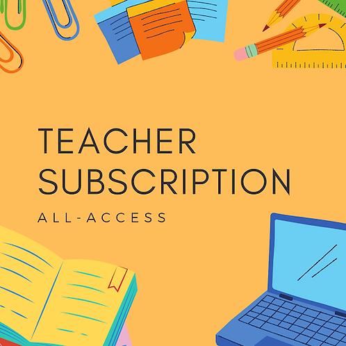 Teacher Subscription