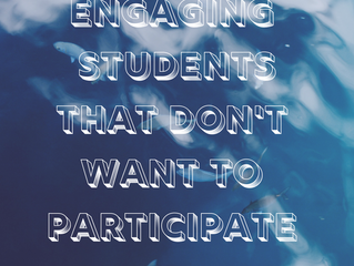 Engaging students that don't want to participate