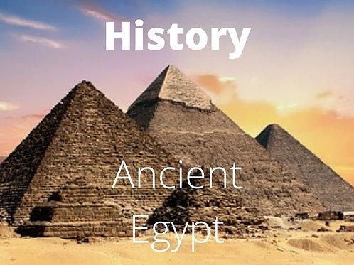 History - Ancient Egypt Advanced Society