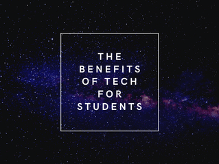 The benefits of Tech for Students