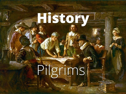 History - Pilgrims of the 1600s