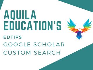 EdTip - Google Scholar + Custom Searches