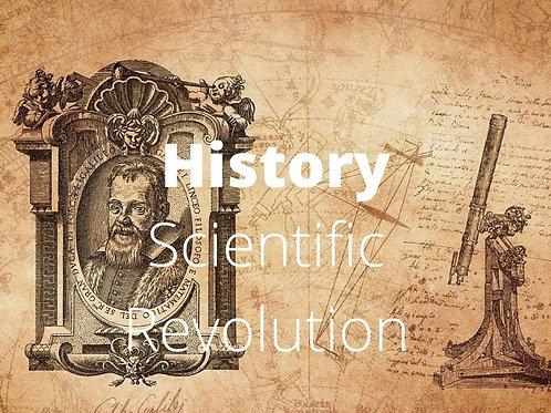 History - Scientific Revolution