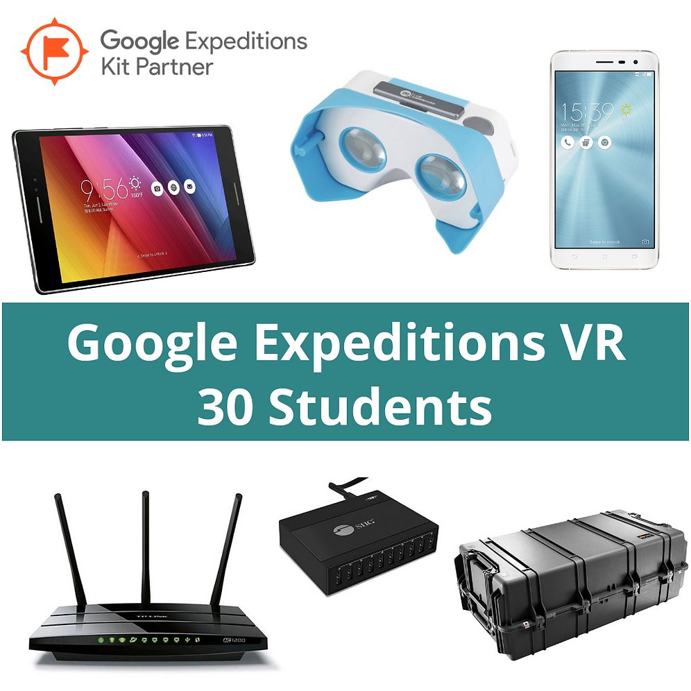 30 Student Google Expeditions VR Kit | aquila