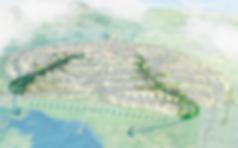 Urriðaholt, blágrænar ofanvatnslausnr, grænir geirar, Urriðavatn, vendun