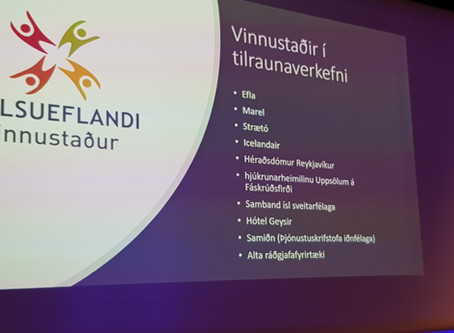 Heilsueflandi vinnustaður