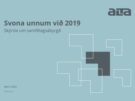 Svona unnum við 2019