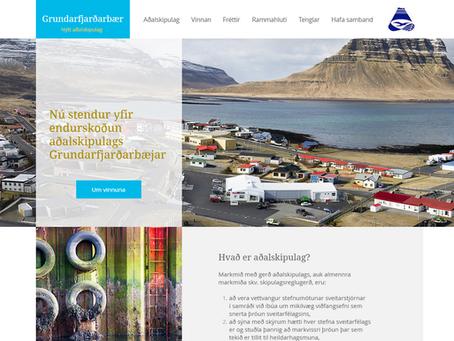 Aðalskipulagsvefur í Grundarfirði