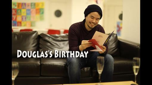 Douglas's Birthday