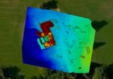 Mid-construction elevation map