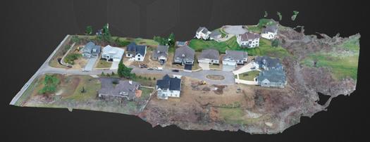 Neighborhood 3D model