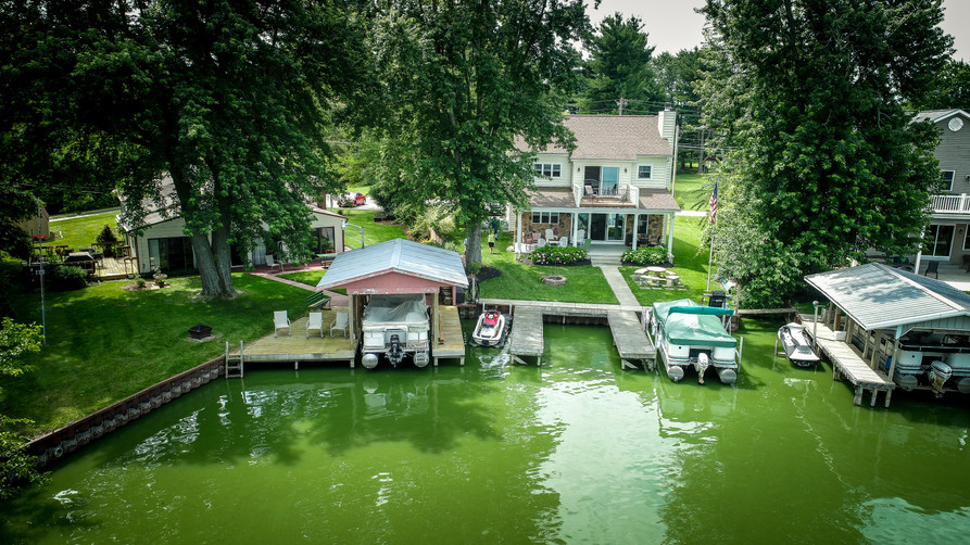 We can provide imagery that you don't get to see often. This picture is taken from 50' above Buckeye Lake.