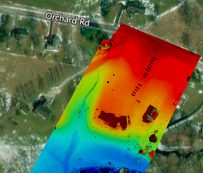 Residential elevation map