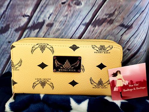 Apricot Trendy Designer Fashion Wallets