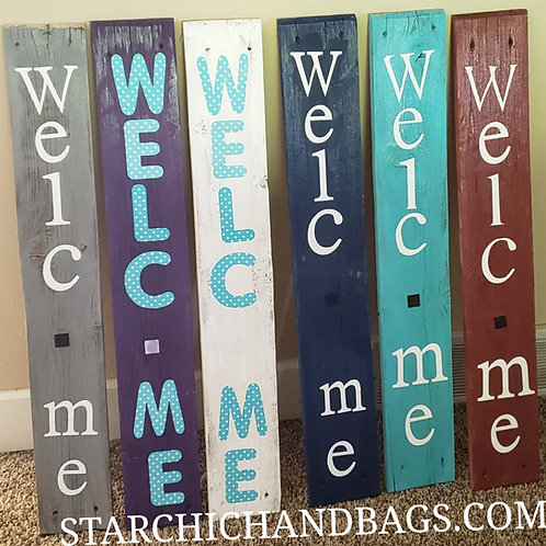 Interchangeable Porch Sign
