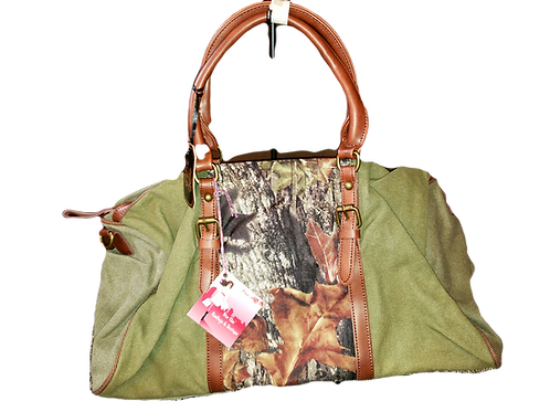 Mossy Oak Dark Green Duffle bag