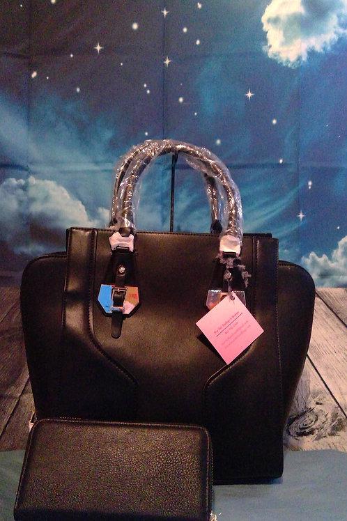 Black Fashion Handbag & Wallet