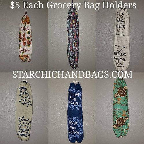 Hanging Grocery Bag Holders