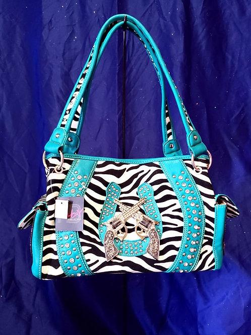 Zebra Print pistols Conceal Carry Handbag