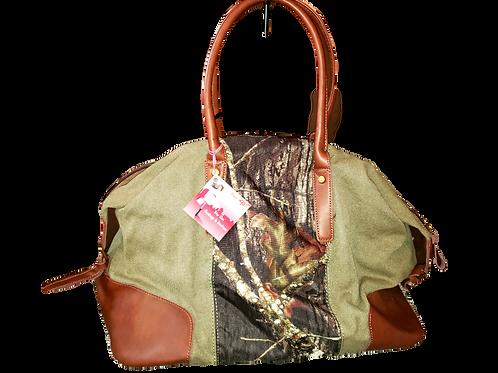 Mossy Oak Green Duffle Bag