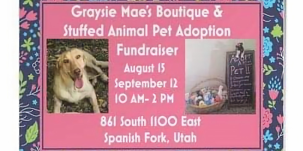 Graysie Mae's Boutique & Stuffed Animal Pet Adoption