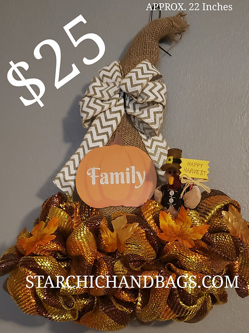 Fall Hanging Decor