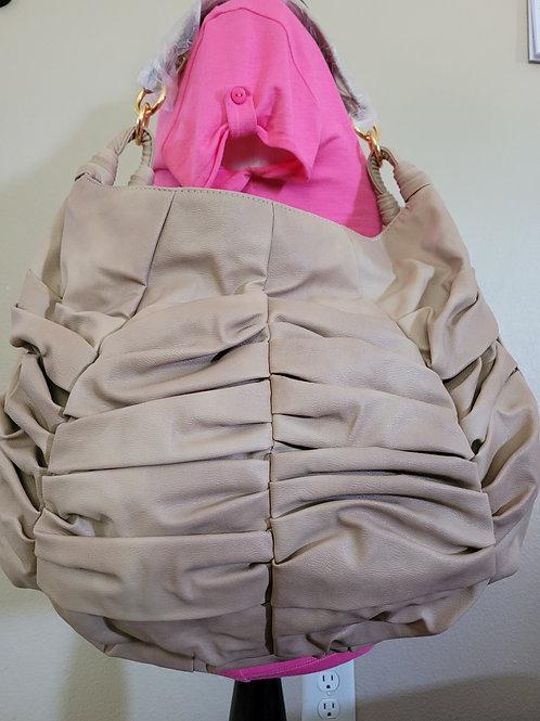 Beige Medium Size Handbag