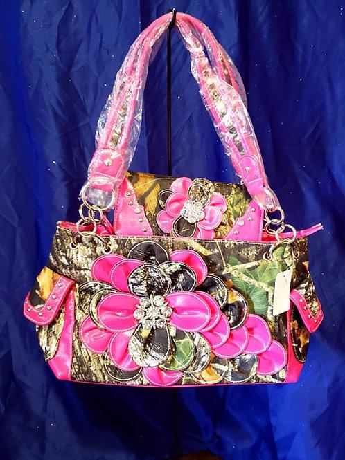 Conceal Carry Flower Handbag & Wallet