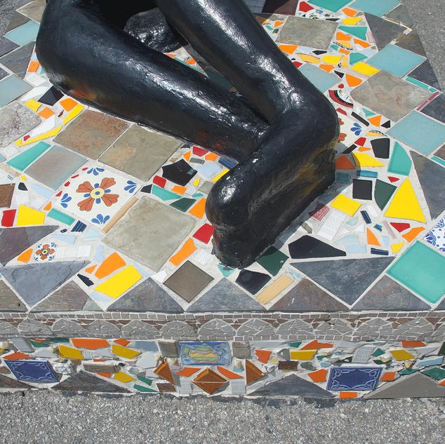 Tiled Base of Mama Watts