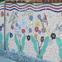 Garcia Mosaic Mural