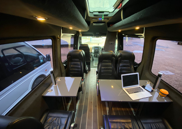 11 Seater Pro Crafter Location Van