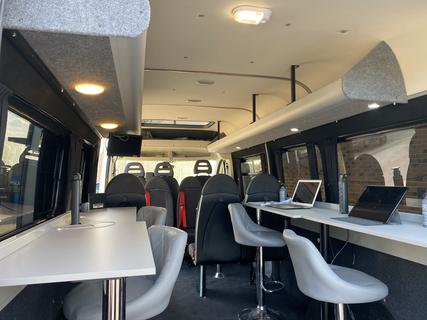 Large Overhead Storage  perfect Production Location Van