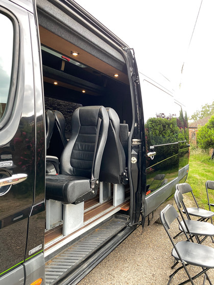 11 Seater Vip Location Vehicle