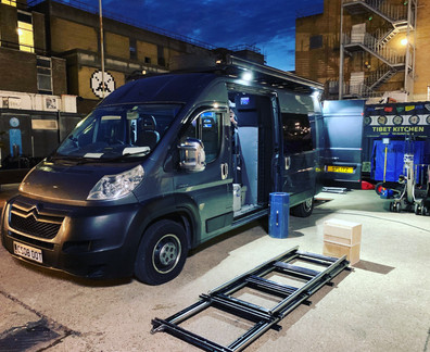 Camera Truck Grip Van
