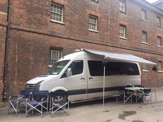 The Grand Crafter Location Van