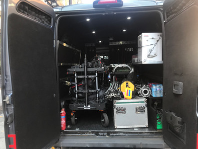 Camera Van with tail lift