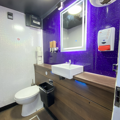 Self Contained Units Safer on set Mobile toilet hire