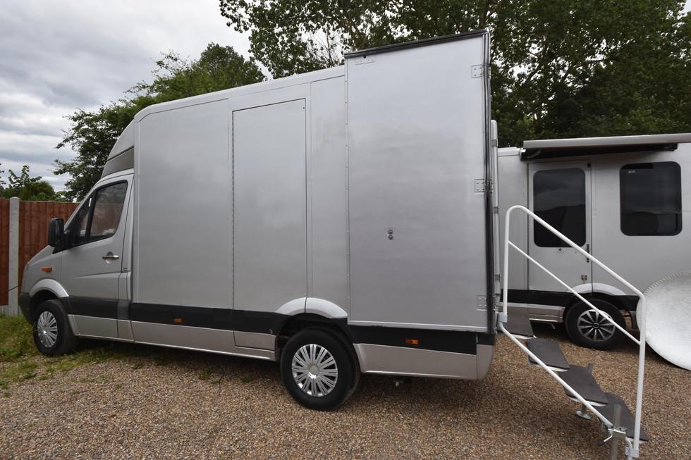 Compact Vanity Van