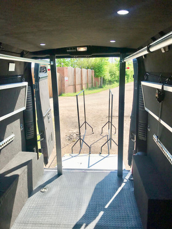 Up to 28ft of hanging space