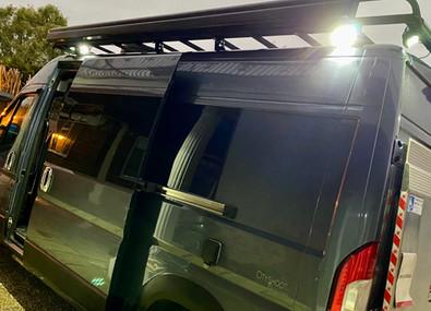 The Gaz Van Crew & Equipment Roof Rack A