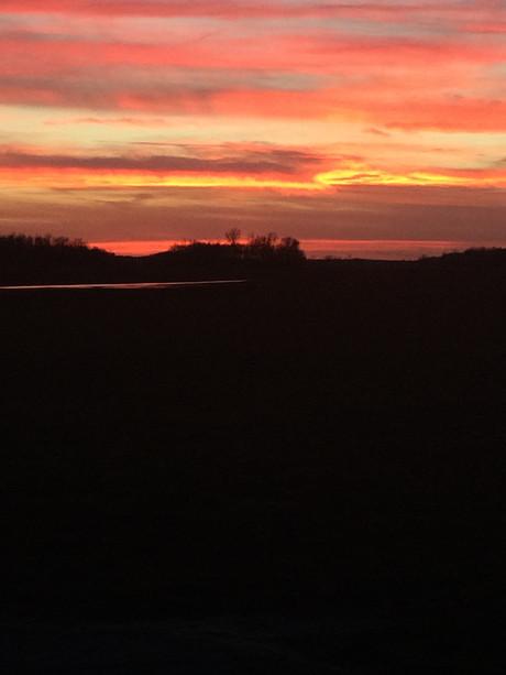 #routegreen #sunset