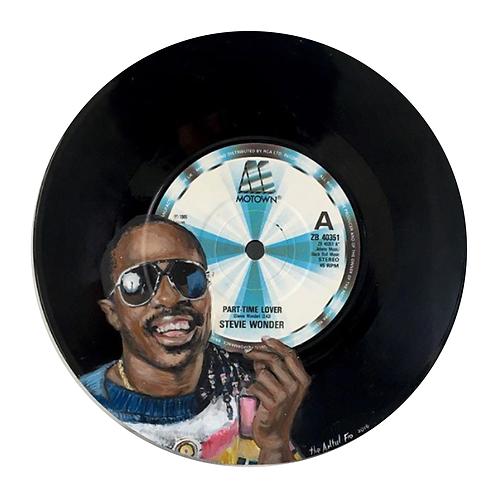Stevie Wonder  - Vinyl Art