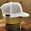 Thumbnail: AL Logo Leather Patch Cap (white/white)