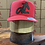 Thumbnail: AL Logo Leather Patch Cap (red/black)