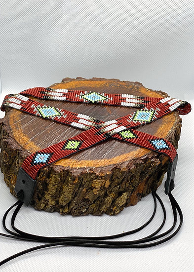 Beaded Hat Band #002