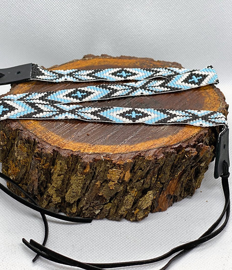 Beaded hat band #031