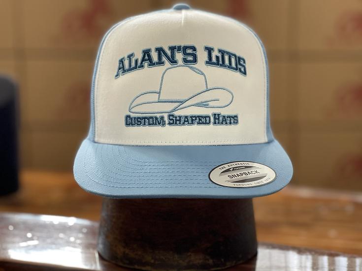 AL ball cap ( Light Blue/ White)