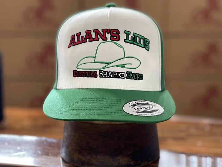 AL ball cap (Green/White/Red)